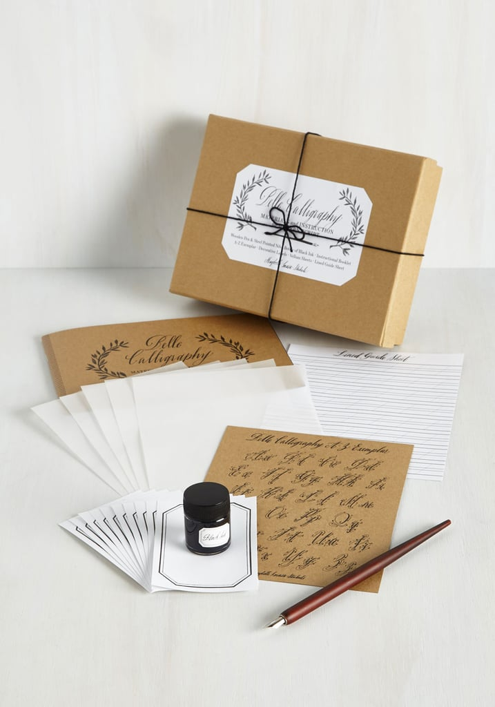 Calligraphy set gifts for writers popsugar love sex
