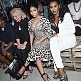 Nicki Minaj, Debbie Harry, and June Ambrose