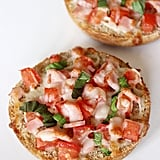 Make a Minipizza on an English Muffin