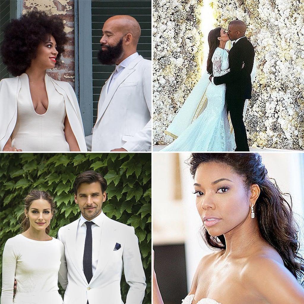 Best Celebrity Wedding Beauty of 2014