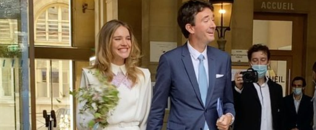 Natalia Vodianova's Ulyana Sergeenko Wedding Dress | Photos