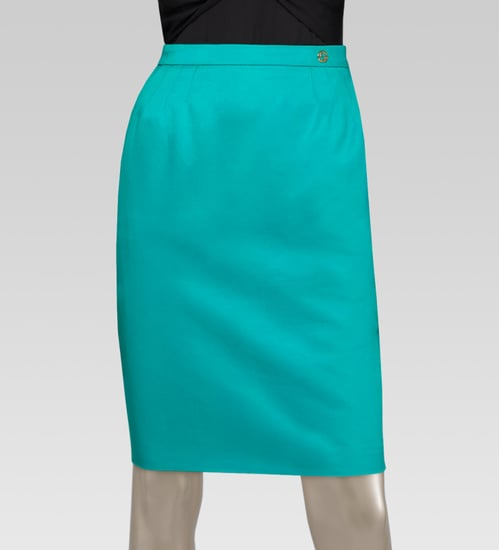 Gucci Darted Skirt ($595)