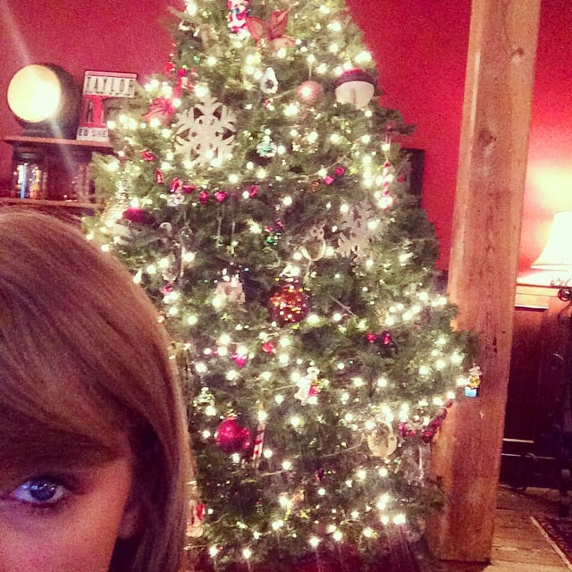 Taylor Showed Off Her Christmas Decorations A Couple Days Before The