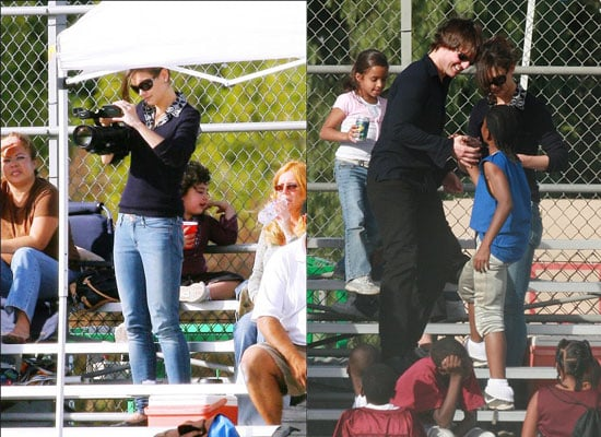Today is Monday - You Know What That Means - New Tom and Katie Football Pics
