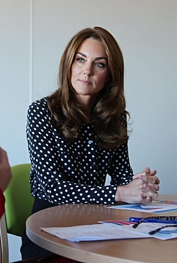 Kate Middleton's Polka Dot Equipment Shirt September 2019