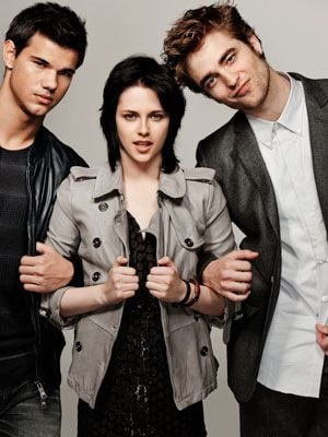 Photos of Taylor, Rob, and Kristen in EW Outtakes