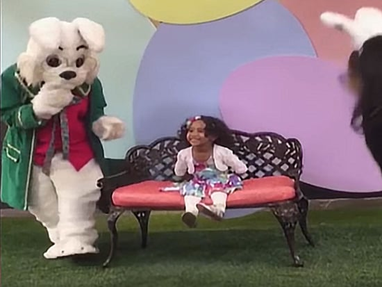 WATCH: Very Reasonable Girl Freaks Out at the Sight of the Easter Bunny