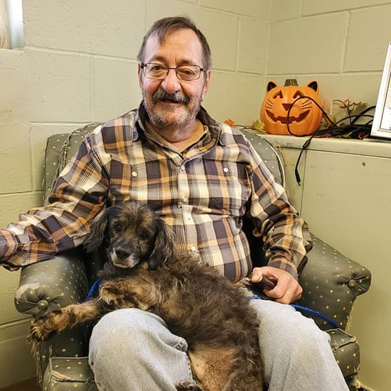 Man Looking For Older Dog Adopts a 13-Year-Old Dachshund