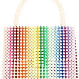 Delduca Rainbow Patterned Shoulder Bag