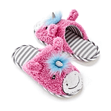 PJ Couture Critter Unicorn Slippers