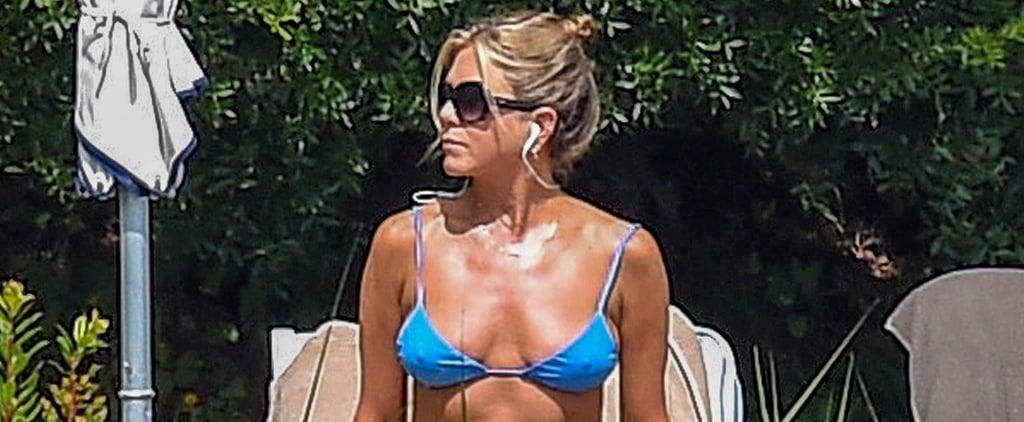 Jennifer Aniston Bikini Pictures in Italy July 2018