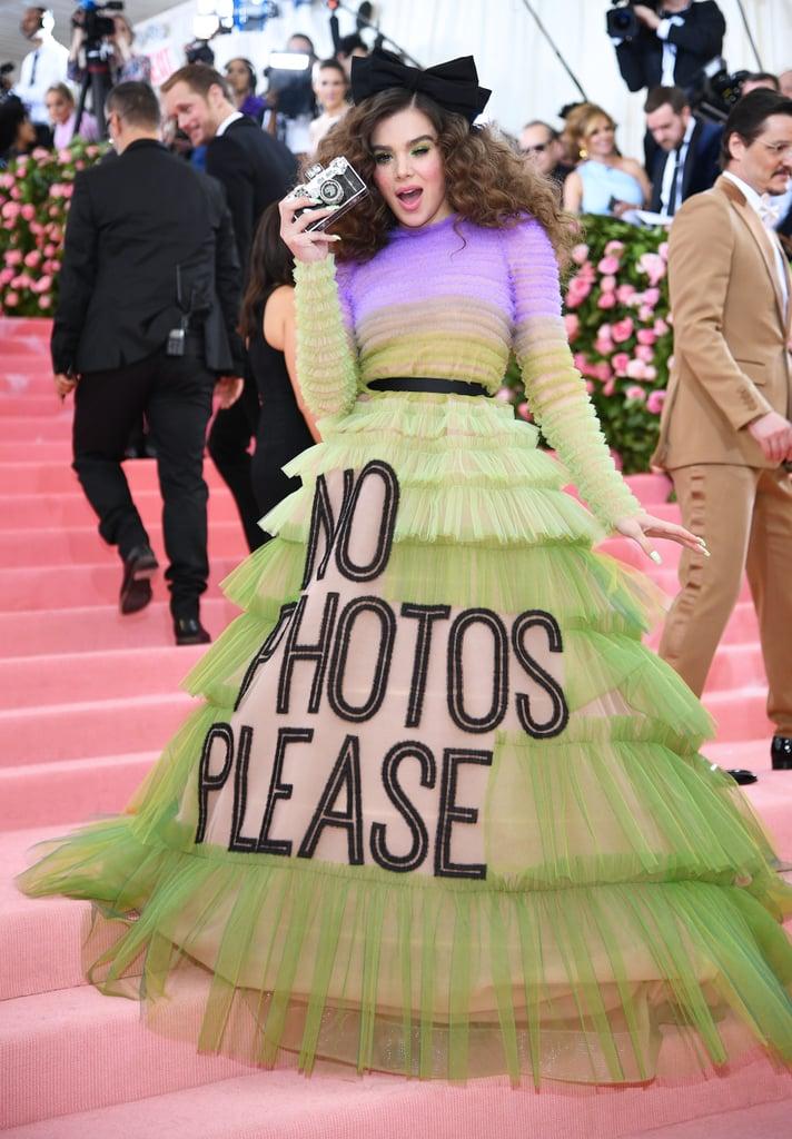 Hailee Steinfeld at the Met Gala in May