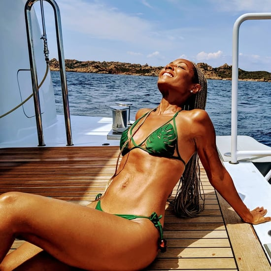 Jada Pinkett Smith's Cult Gaia Green Bikini July 2019