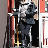 Charlize Theron grabbed lunch at James Hook & Co.