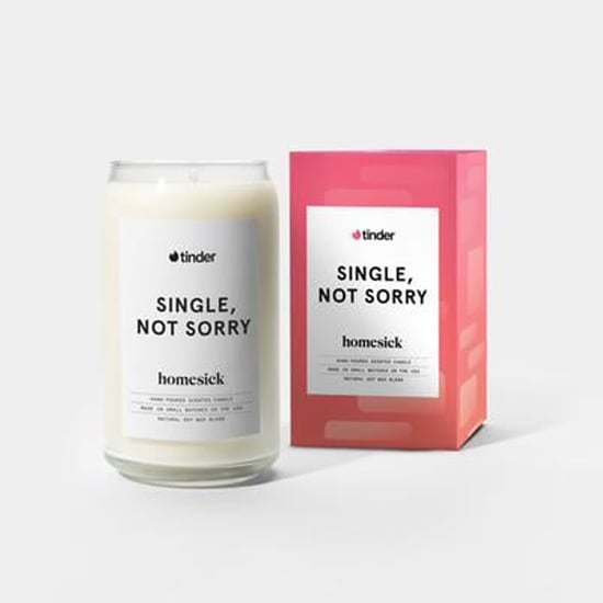 Tinder Valentine's Day Candle