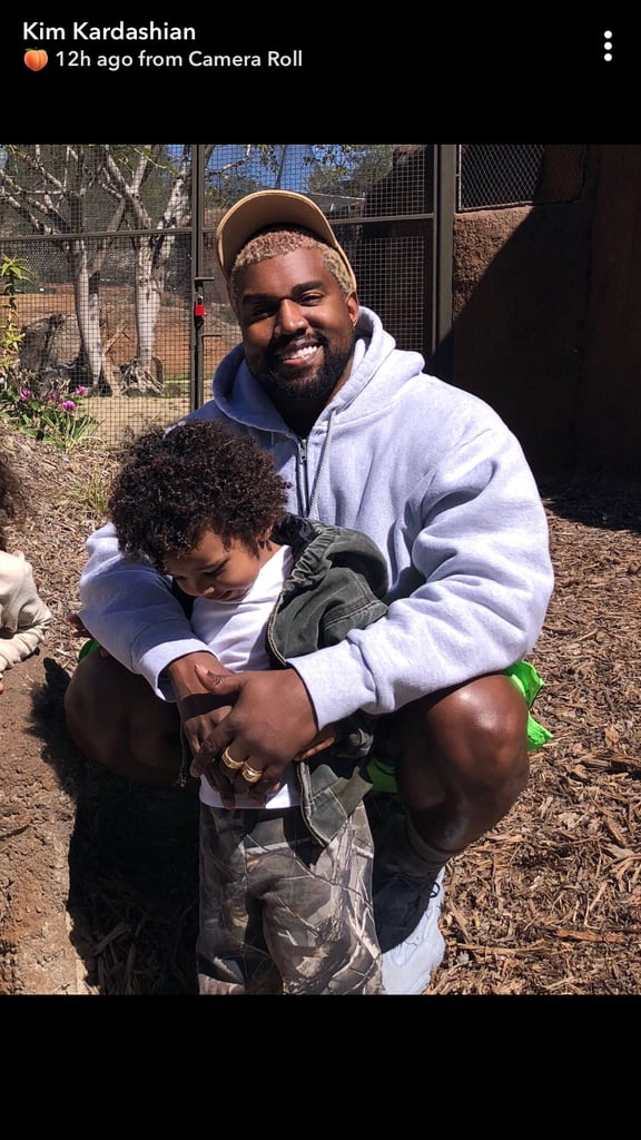 Kim Kardashian and Kanye West's Kids Steal the Show During Their Family Trip to the Zoo