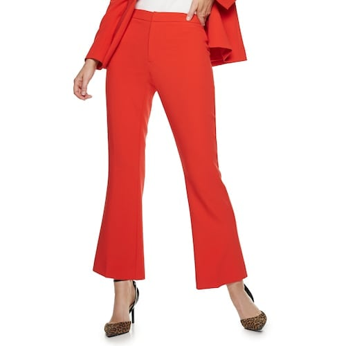 Nine West Petite Madison Kick Flare Pants