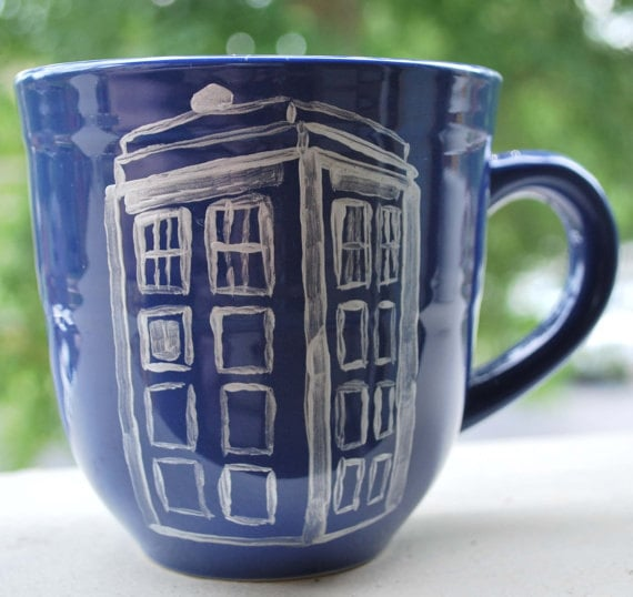 Doctor Who Tardis Mug ($12)