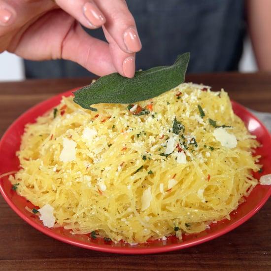 Microwave Spaghetti Squash Recipe