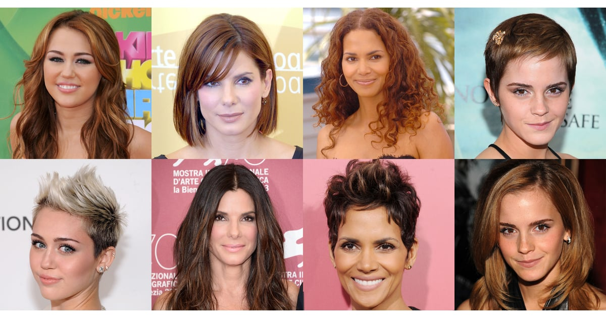 Celebrities With Long And Short Hair Popsugar Beauty