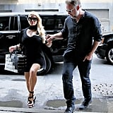 Jessica Simpson and Eric Johnson Out in NYC September 2016