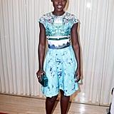 Lupita Nyong'o Kicks Off Globes Celebrations in a Colorful Way