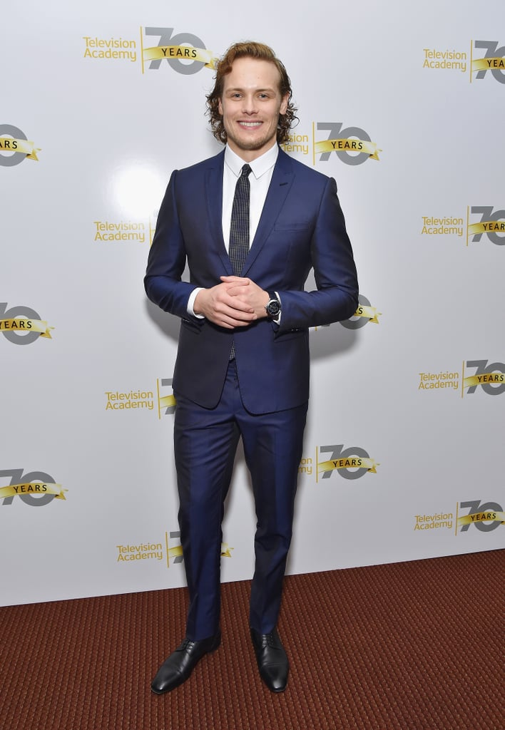 Sam Heughan = 6' 3'' | Male Celebrity Heights | Pictures