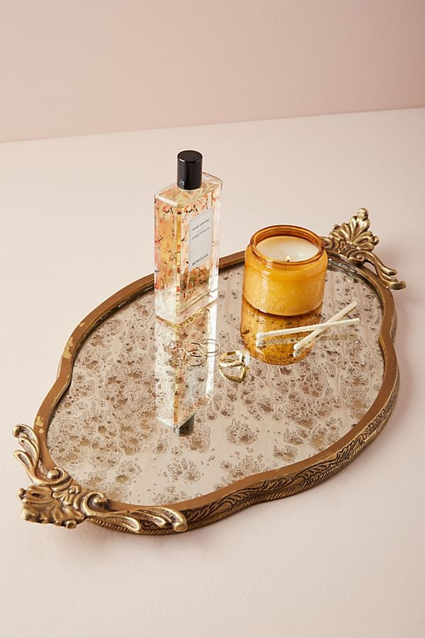 Anthropologie Antiqued Vanity Tray - Anthropologie Antiqued Vanity Tray Best Vanity Trays POPSUGAR