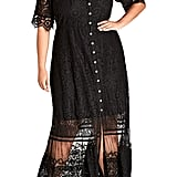 City Chic Summer Lace Maxi Dress