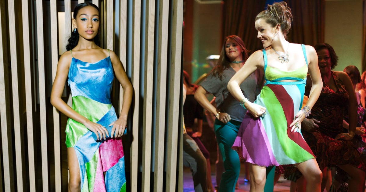 Lexi Underwood Gives Jenna Rink a Run For Her Money in This Playful Colorblock Slip.jpg