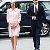 Will and Kate's First Commonwealth Day Service Together