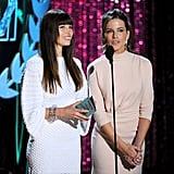 Jessica Biel and Kate Beckinsale
