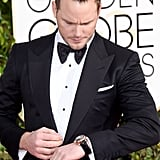 At the Golden Globe Awards, January 2015 . . .