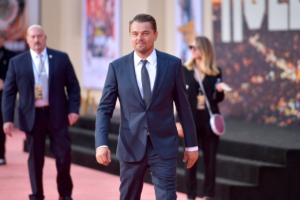 Leonardo DiCaprio at the Once Upon a Time in Hollywood LA premiere.