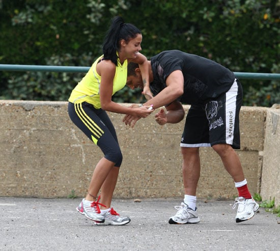 Photos of Katie Price and Alex Reid and Peter Andre