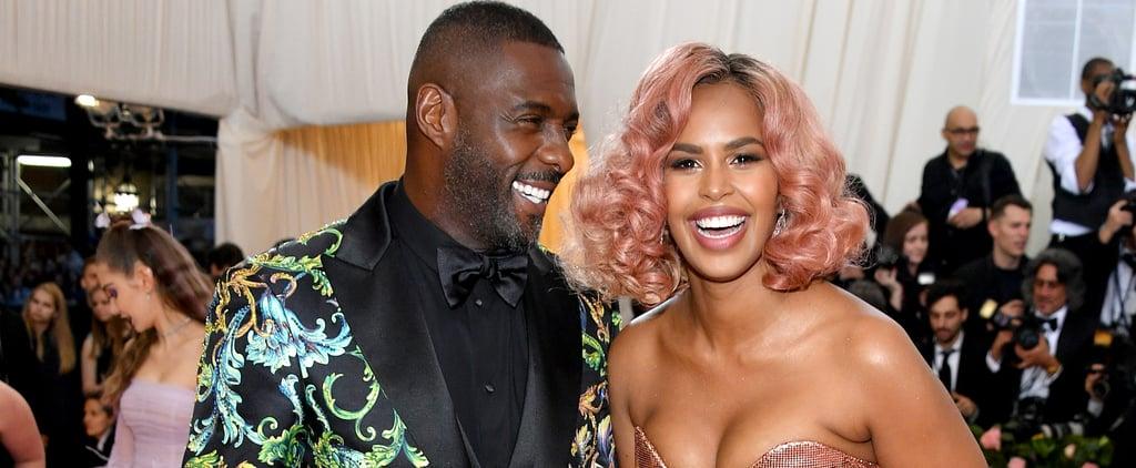 Idris Elba and Sabrina Dhowre at the 2019 Met Gala