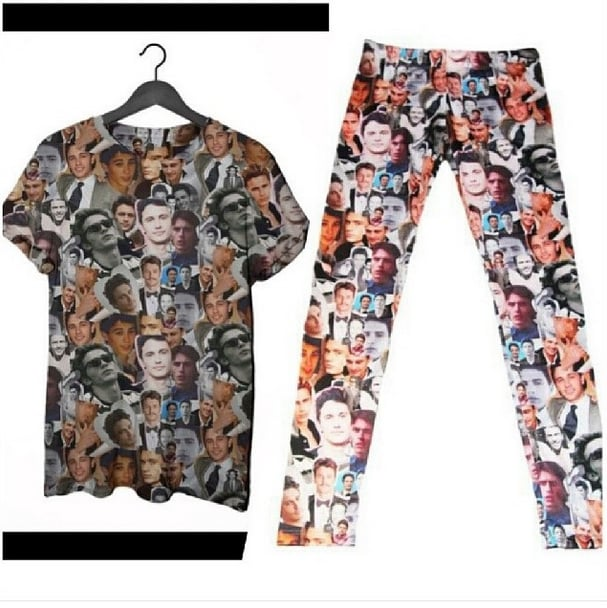 Because who wouldn't want the gift of head-to-toe James Franco? Source: Instagram user jamesfrancotv