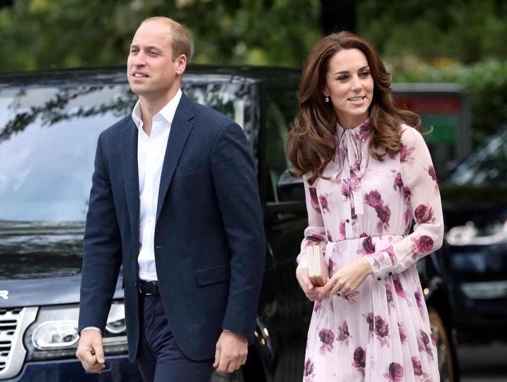 Duchess Kate's Kate Spade Dress World Mental Health Day 2016