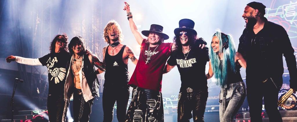 Guns N' Roses 2018 Abu Dhabi Grand Prix After-Race Gig