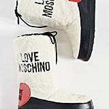 Moschino Shearling Snow Boots