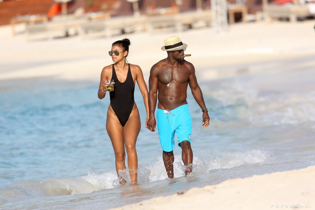 Kevin Hart and Eniko Parrish Kick Off Their Tropical Honeymoon in St. Barts