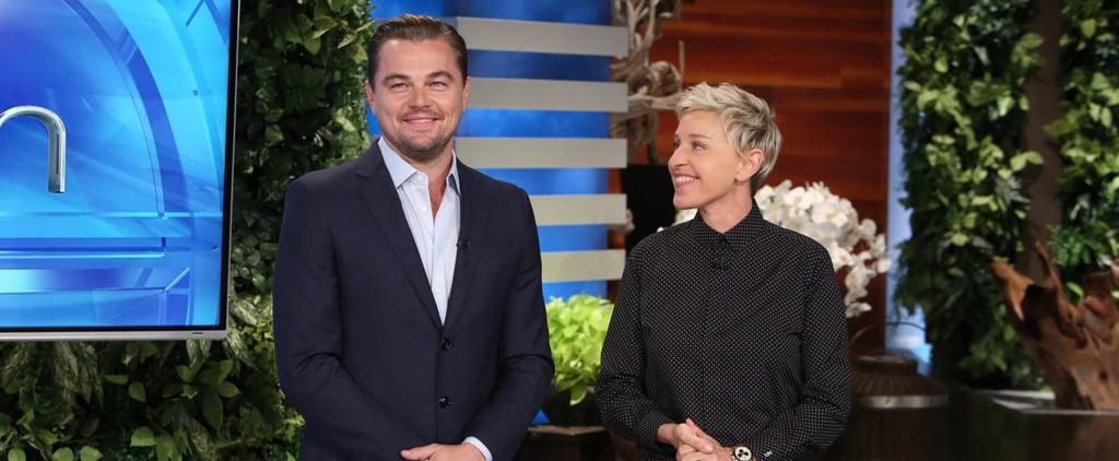 Here Are Some Grown Women Screaming When Leonardo DiCaprio Surprises Ellen DeGeneres's Audience