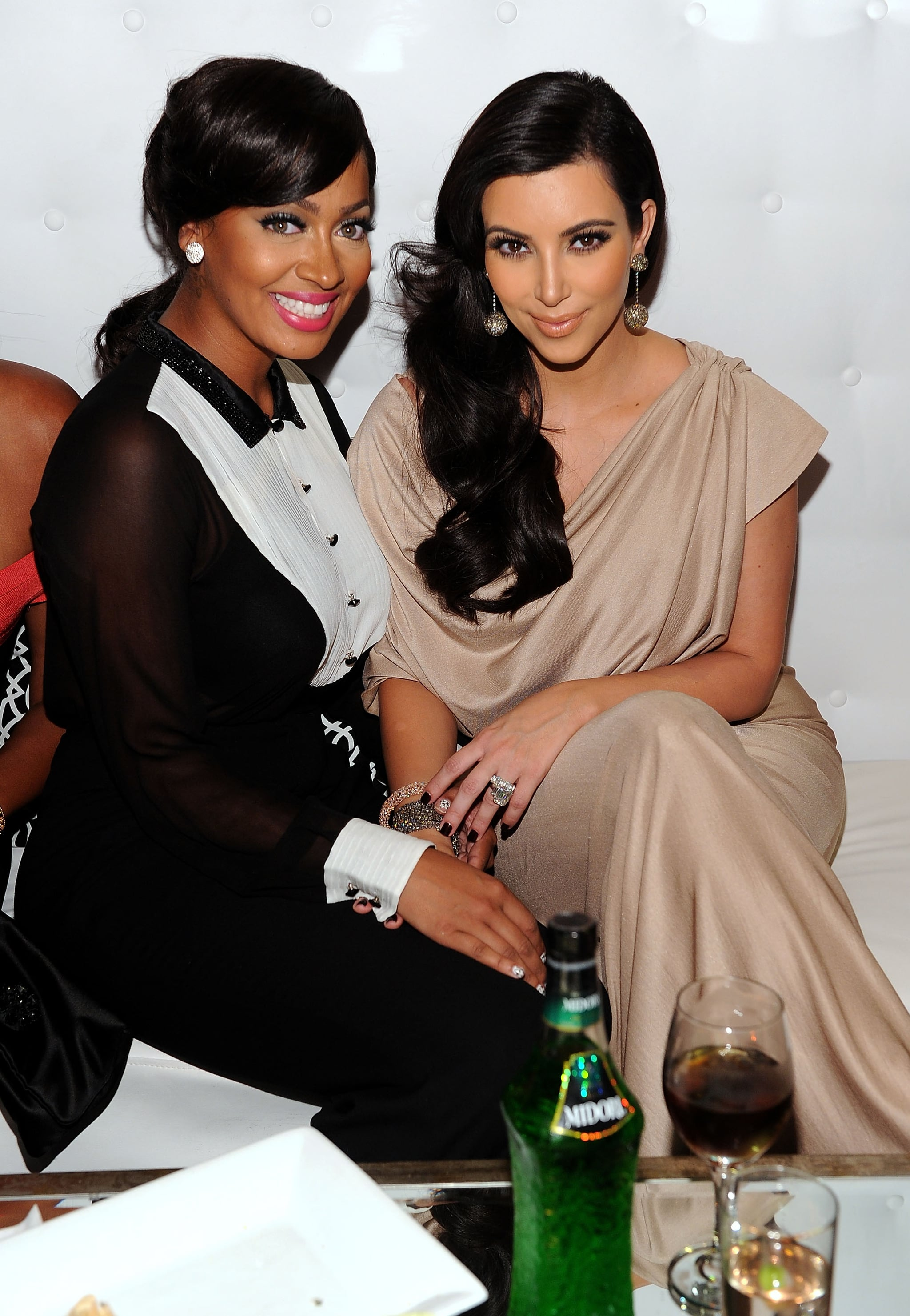 Lia La Anthony and Kim Kardashian