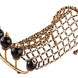 Gucci Multi-Finger Ring With Chain & Faux Pearls