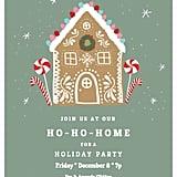 Ho-Ho-Home Holiday Party Invitation