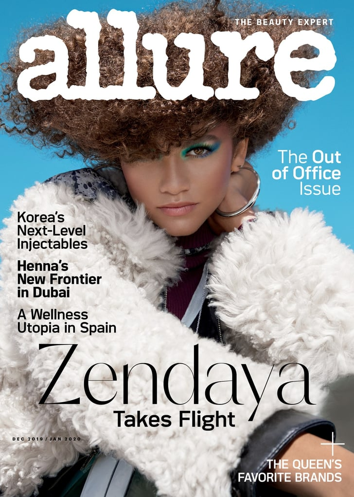 Allure Best Of Beauty 2020.Zendaya S Quotes In Allure December And January 2020 Issue