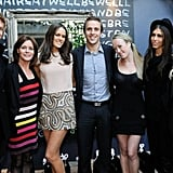 The team at Sweaty Betty PR at the Schwarzkopf hair event! Twitter User: sweatybettypr