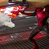 Spidey has some muscles under that suit!