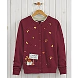 Pumpkin Patch Embroidered Cardigan