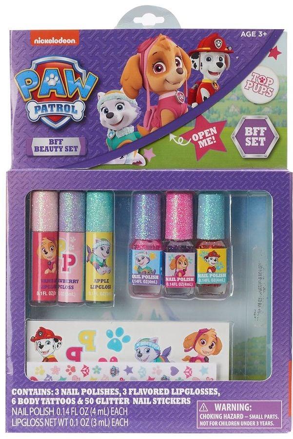 Nail Polish, Lip Gloss, Temporary Tattoos, and Nail Stickers BFF Beauty Set